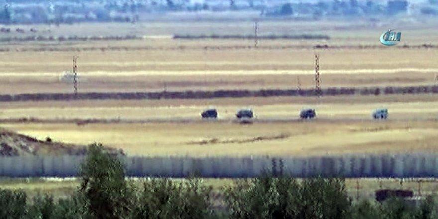 Fırat Kalkanı Harekatının 32. gününde sınırda büyük sevkiyat