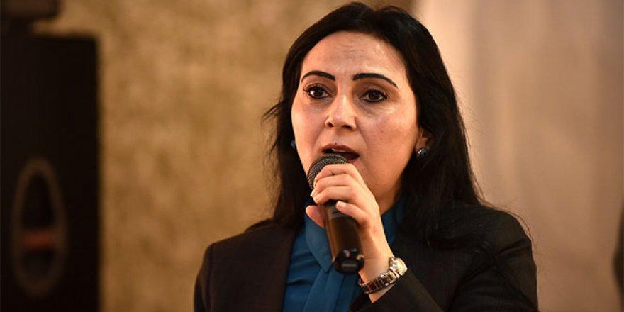 HDP Eş Genel Başkanı Figen Yüksekdağ: 'İnceldiği yerden kopsun'