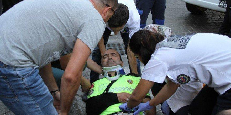Muğla, Fethiye'de Trafik Kazası: 1 Polis Yaralı