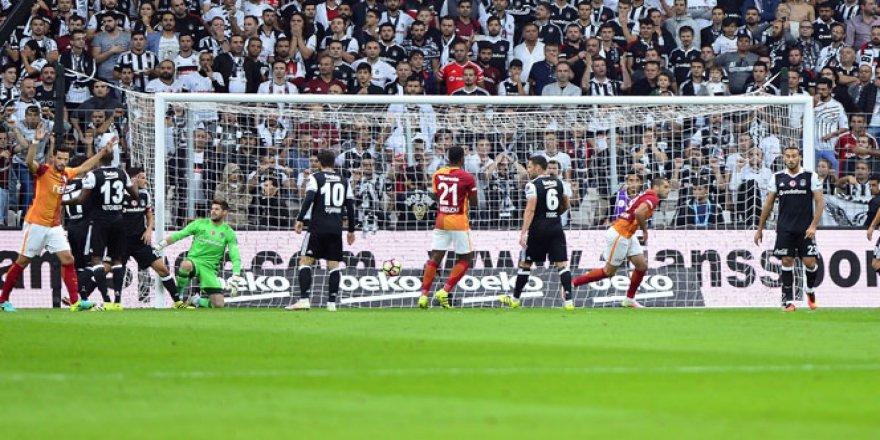 Spor Toto Süper Lig'in 5. haftası, Beşiktaş 0-2 Galatasaray