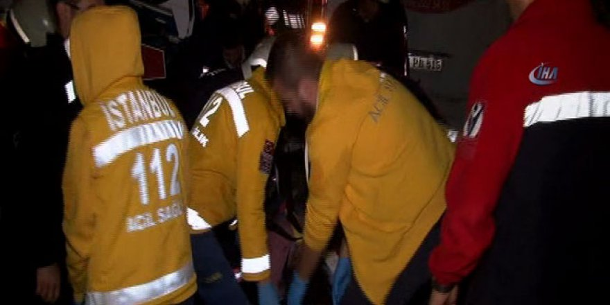 İstanbul'da korkunç kaza : 1 ölü, 2 yaralı