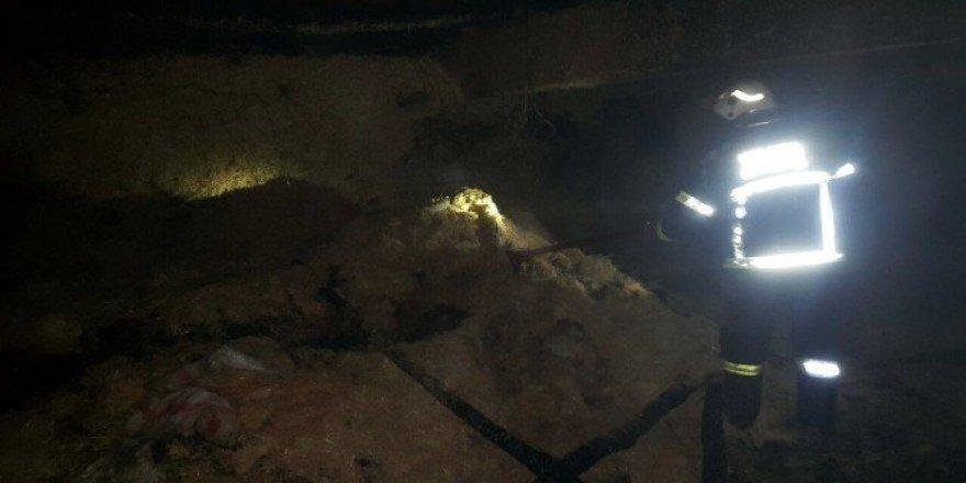 Malatya, Yeşilyurt'ta Korkutan Yangın: 2 İnek Telef Oldu