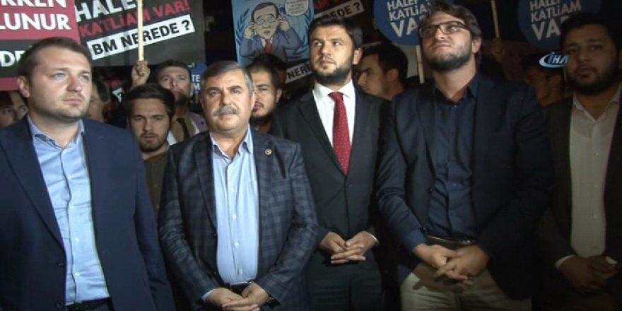 AK Parti Gençlik Kollarından Halep saldırısına kınama