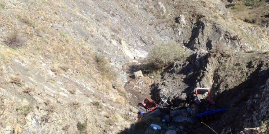 Gümüşhane, Kelkit'te Traktör Kazası