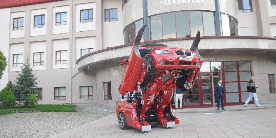 Türk Şirket Letvision'ın Yapımı Transformers Letrons Görücüye Çıktı