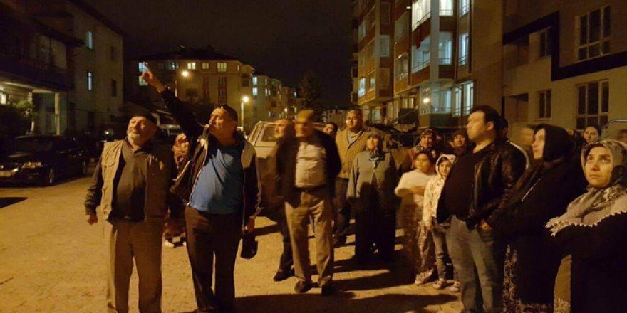 Bolu, Sümer Mahallesi'nde halkı baz istasyonu için sokağa döküldü