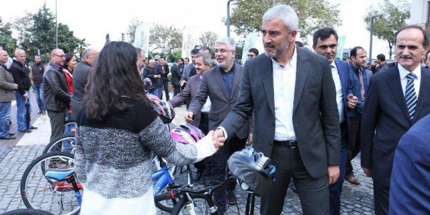 Ordu Büyükşehir Belediyesi'nden TEOG Başarısına Bisikletli Ödül