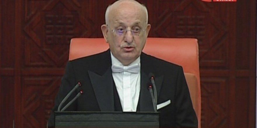 TBMM Başkanı İsmail Kahraman: Öncelikli konularımızdan biri sivil anayasa
