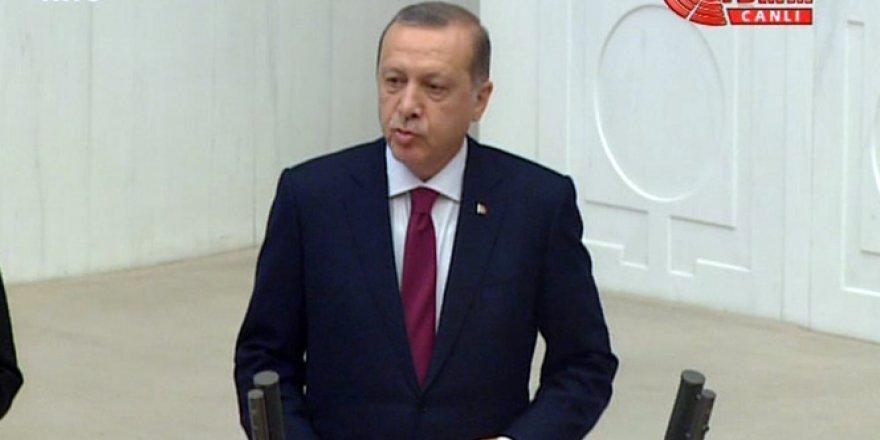 Erdoğan: Her kim 15 Temmuz'a ama'sız, lakin'siz darbe diyemiyorsa...