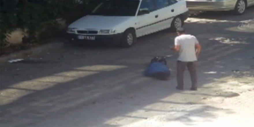 Muğla'da boşanmak isteyen karısının gözü önünde kendini vurdu
