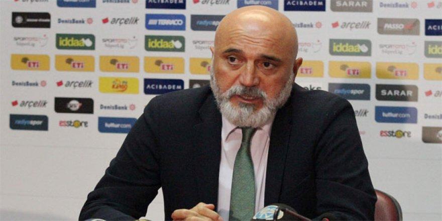 Çaykur Rizespor Teknik Direktörü Hikmet Karaman: 'Üzgünüz'