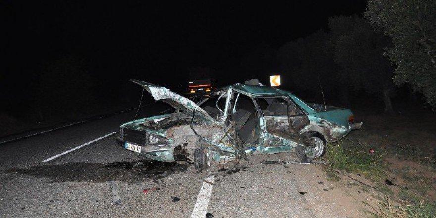 İznik'te Feci Kaza,Emrah Gökbayrak öldü 2 Yaralı