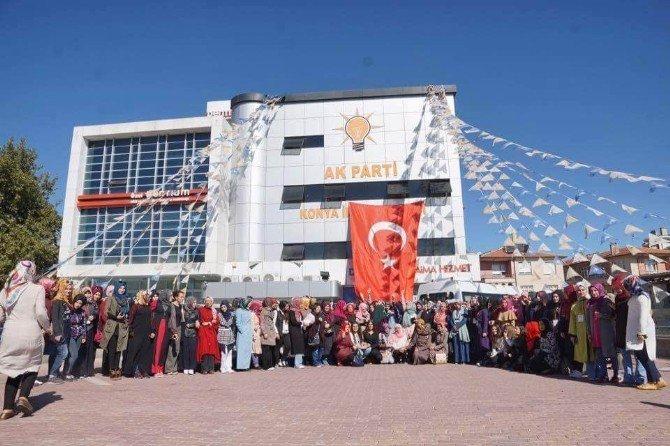 """Konya Ak Gençlik'ten Bayanlara Yönelik """"Diriliş Muştusu Kampı"""""""