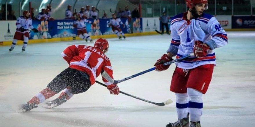 35 yıllık Türkiye buz hokeyi tarihinde bir ilk