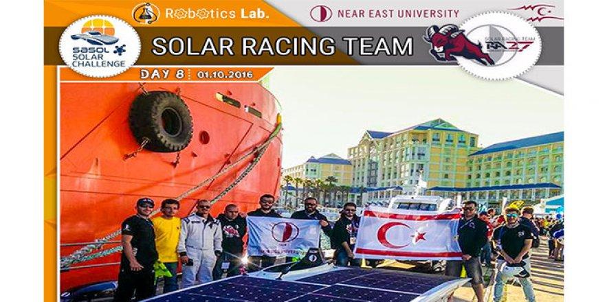 "RA27, ""Sasol Solar Challenge 2016"" dünya 6. oldu"