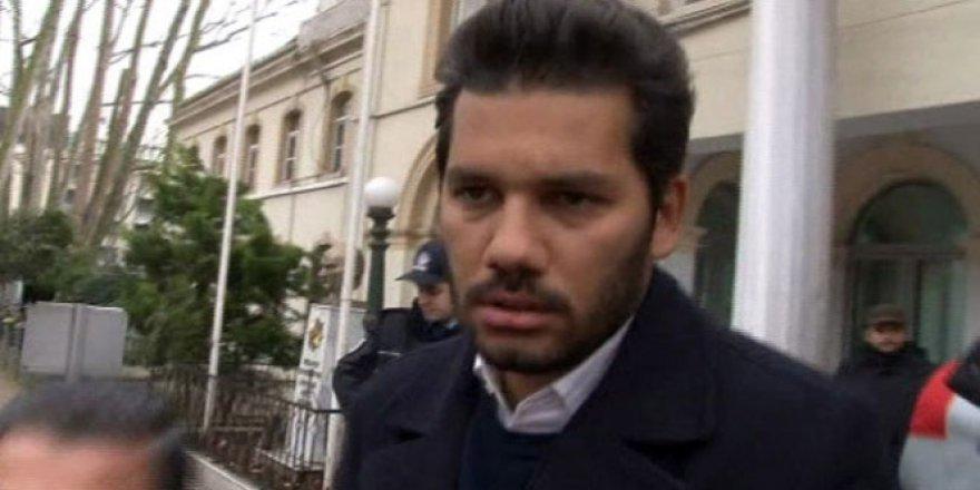 Sinan Çetin'in oğlu Rüzgar Çetin tahliye oldu!