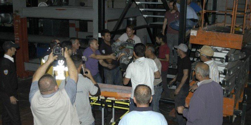 Tekirdağ'da Gaz Kazanına Düşen İşçi Hayatını Kaybetti