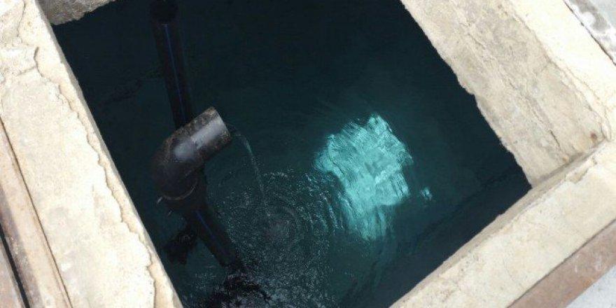 Balıkesir, Bandırma'da Su Depoları Dezenfekte Ediliyor