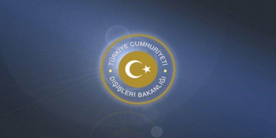 Dışişleri Bakanlığı, Irak Temsilciler Meclisini kınadı!