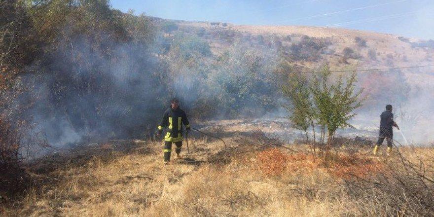 Malatya, Darende'de Arazi Yangını