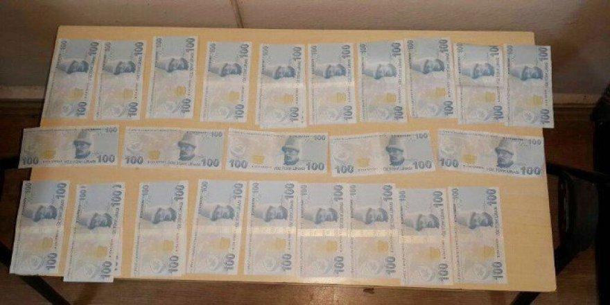 6 Bin 100 Lira Tutarında Sahte Para Ele Geçirildi