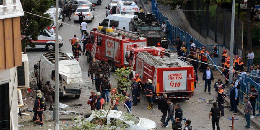 Yenibosna'da şiddetli patlama: 10 yaralı