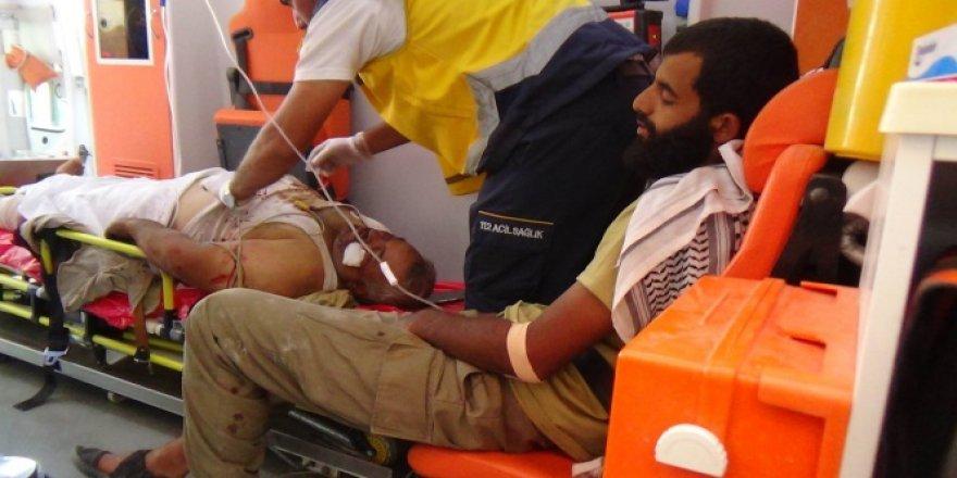 Çatışmalarda Yaralanan ÖSO Askerleri Kilis'e Getirildi