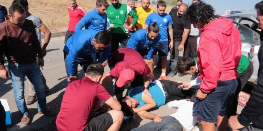 Sivas Belediyespor'da futbolcularından insanlık dersi!