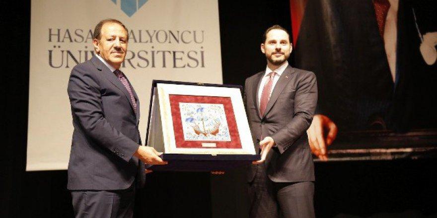 Bakan Albayrak Akademik Yılı Açılış Törenine Katıldı