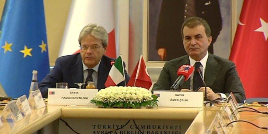 Bakan Ömer Çelik: İlk kez Avrupa ve NATO sınırlarının DAEŞ'ten temizlendiğini söyledi!