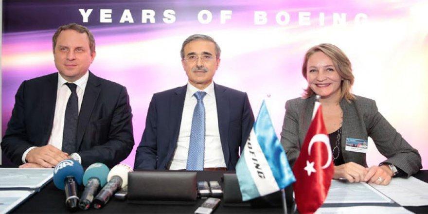 Boeing uçaklarının parçaları Türk şirketten