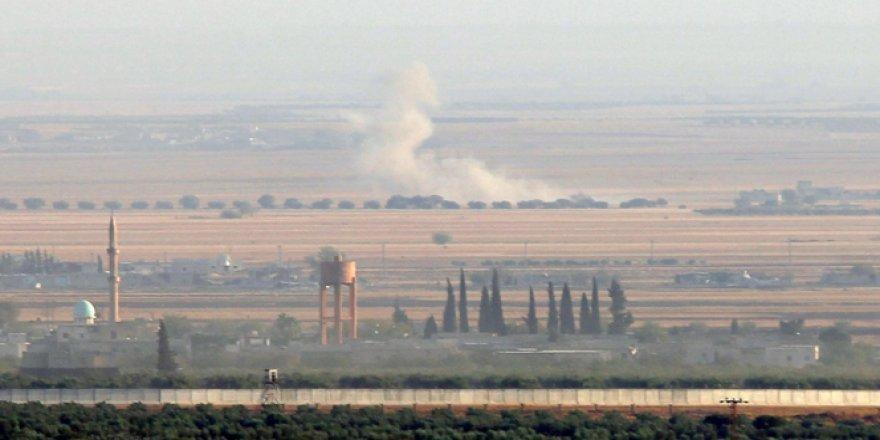 Suriye'deki DAEŞ hedeflerine top atışı ve hava saldırısı düzenlendi