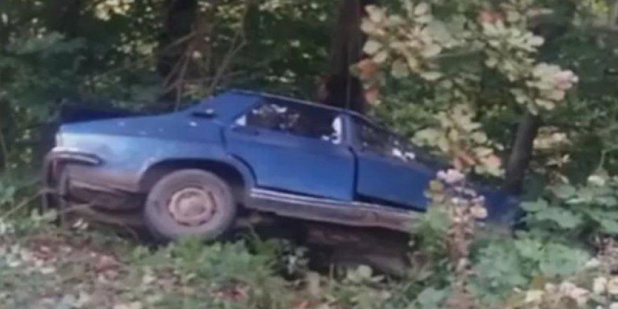 Kastamonu'da otomobil şarampole uçtu: 1 ölü, 2 yaralı
