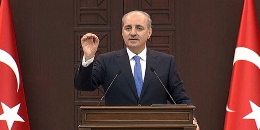 Başbakan Yardımcısı Numan Kurtulmuş'tan Avrupa'ya 'mülteci' eleştirisi