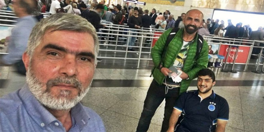Sefa Ercan,Fikret Ercan ve Ali Güler Yunanistan'da mahsur