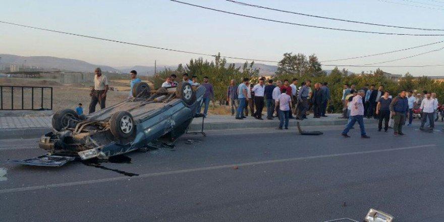Adıyaman'da Otomobil Takla Attı: 2 Kişi Yaralı