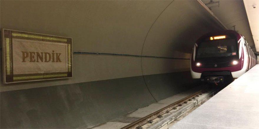 Kartal- Pendik metro hattı bugün açıldı