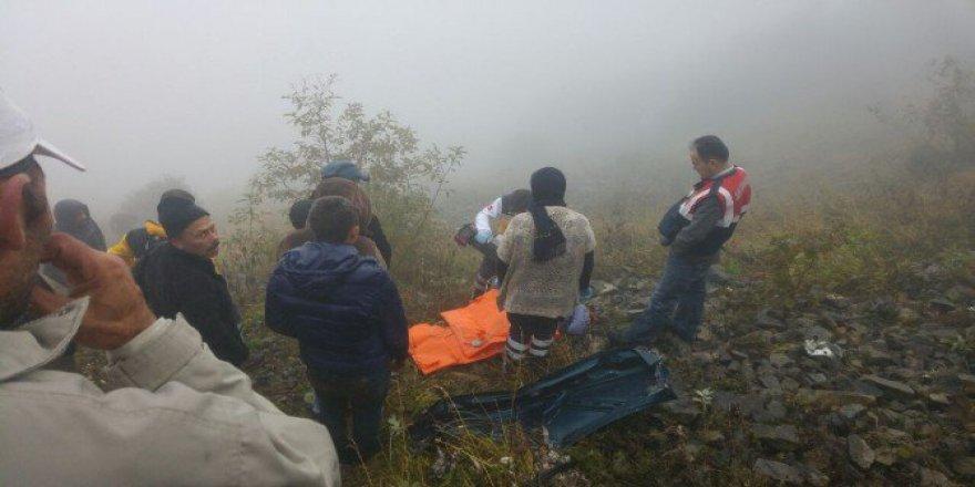 Trabzon, Çaykara'da Araç Uçuruma Uçtu: 1 Ölü
