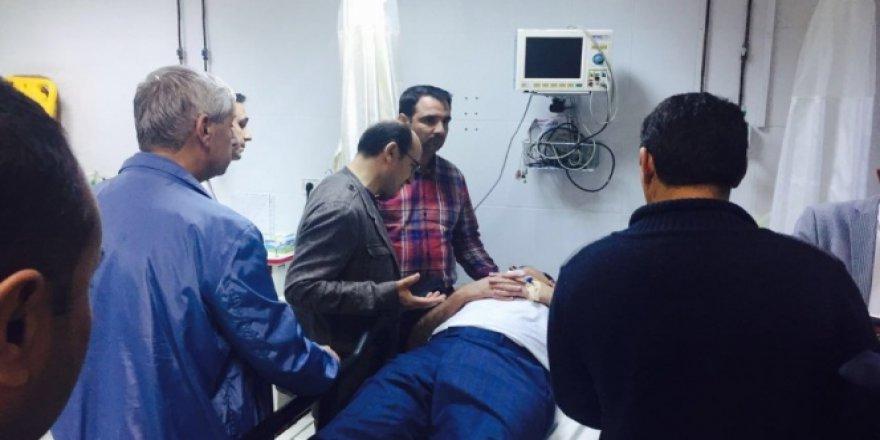 CHP'li Hüseyin Yıldız Trafik Kazası Geçirdi