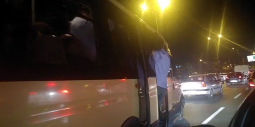 İstanbul, TEM Otoyolu'nda  pes dedirten yolculuk