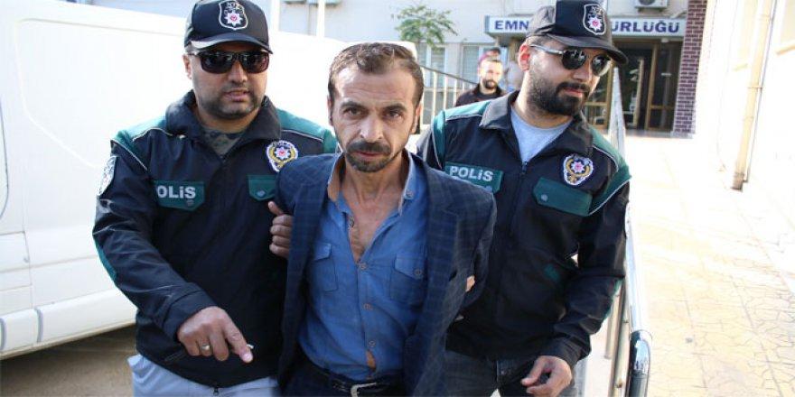 Uyuşturucudan yakalandı, suçu oğlunun üstüne attı