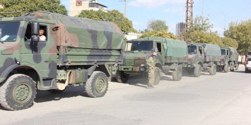 Gaziantep'e bir tabur asker sevkıyatı gerçekleştirildi!