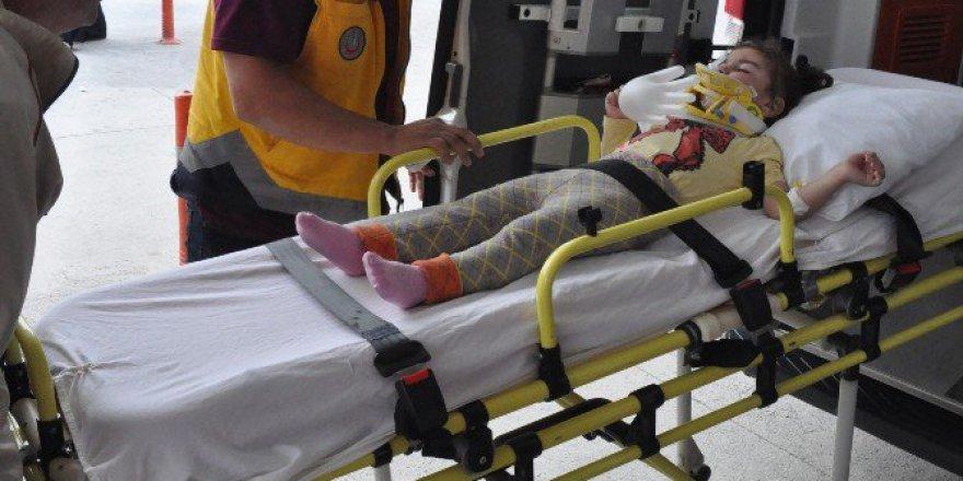 Bursa'da 3 Yaşındaki Çocuk Balkondan Düştü