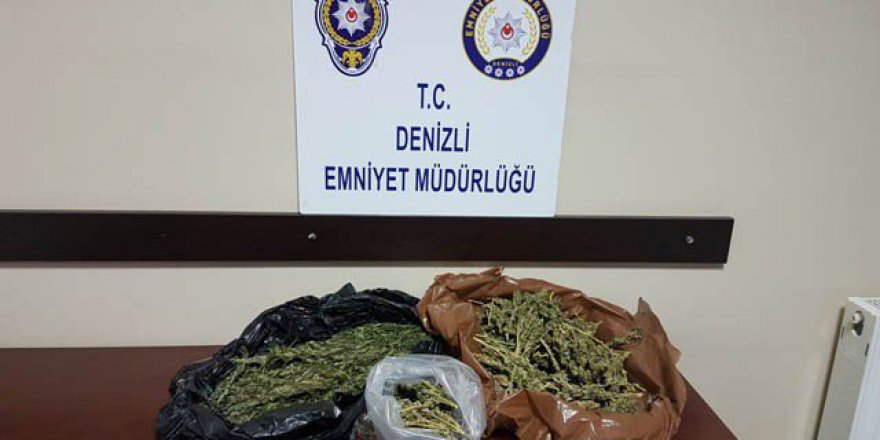 Denizli'de Uyuşturucu Madde Ticareti Operasyonu: 4 Kişi Tutuklandı