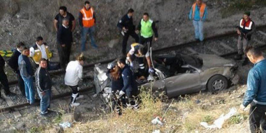 Çankırı'da korkunç kaza: 4 ölü