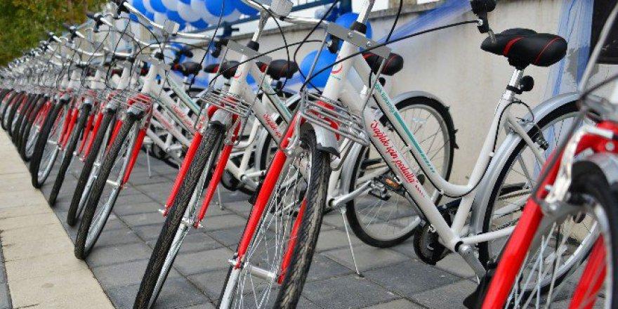 Bakanlıktan Erbaa Belediyesine 500 Bisiklet Hediyesi