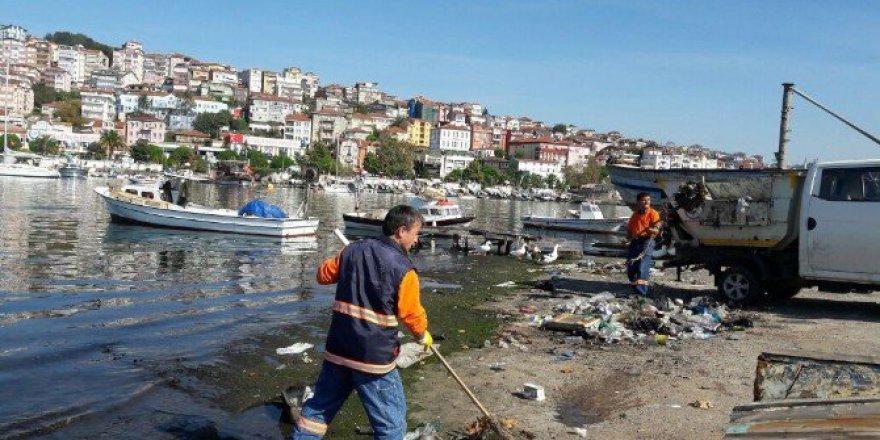 Zonguldak'ta 113 Bin Nüfuslu İlçeyi 229 Personel Temizliyor