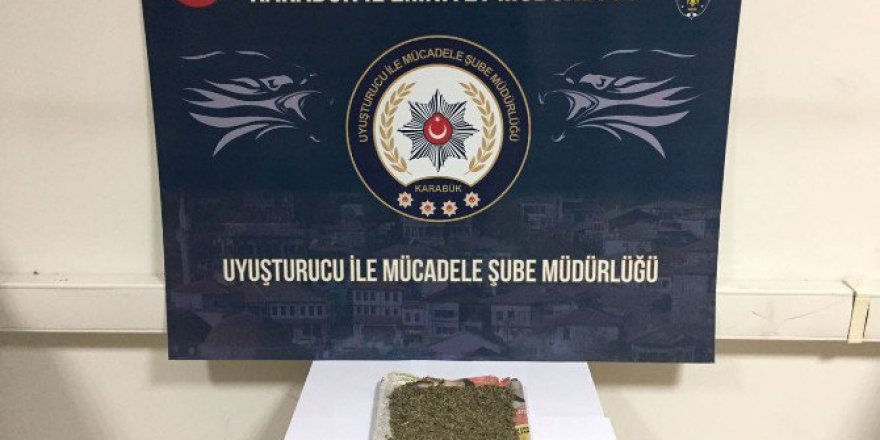 Karabük'te Uyuşturucu Operasyonu: 1 Gözaltı