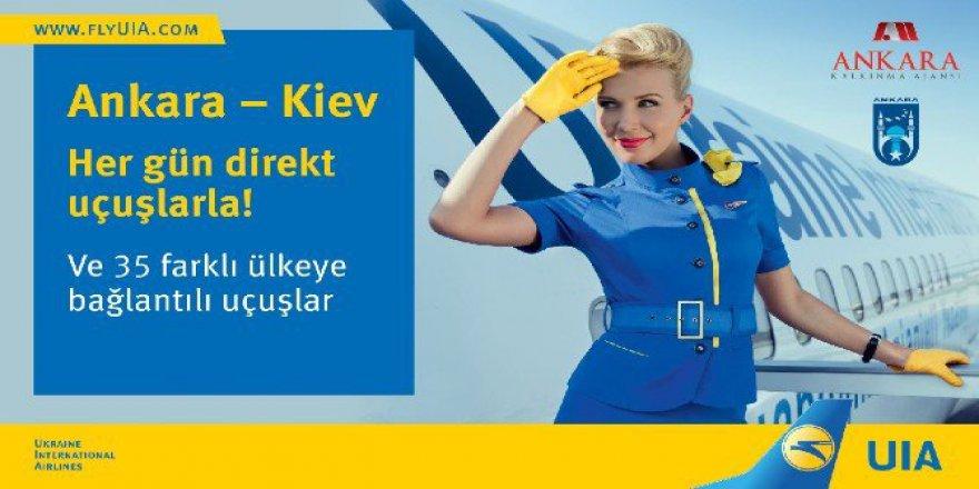 Ankara-Kiev Uçuşları Çok Yakında