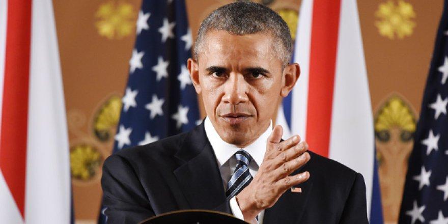 Obama'dan Vur Emri!